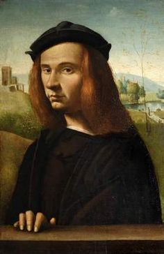 A Young Man, ca. 1500 attributed to Ridolfo Ghirlandaio, 1483-1561 Fitzwilliam Museum, Cambridge 1112
