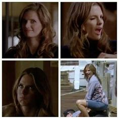 Funny faces of Kate Beckett <3