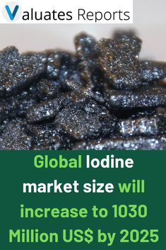 Global Iodine market size will increase to 1030 Million US$ by 2025, from 810 Million US$ in 2018, at a CAGR of 3.0% during the forecast period. In this study, 2018 has been considered as the base year and 2019 to 2025 as the forecast period to estimate the market size for Iodine.