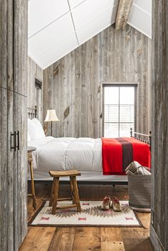 This Wyoming bedroom's beautiful design is simple in every way. And that's exactly what this reader needed.