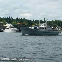 #Boats on the #water on #LakeUnion. #Seattle #instaboat #NWRoadtrips #thingstodo