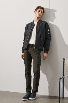 Pair rugged styles with understated garments for a modern take on the utility trend.   H&M For Men