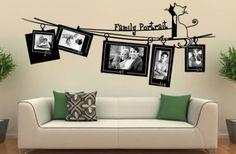 Decorare una parete con le foto: idee per arredare con le immagini - Donnaclick