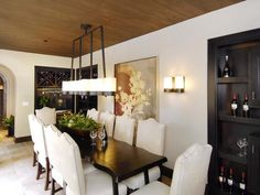 Wine Tasting Dining Room : PDI : Dining Rooms : Pro Galleries : HGTV Remodels