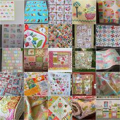 Quilt Inspiration by Roxy Creations, via Flickr