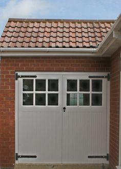 more garage doors Garage Door Styles, Garage Doors, Hothouse, House Doors, Garages, 1930s, Kitchen Ideas, Exterior, Houses