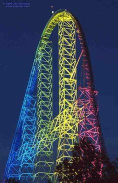 Top Thrill Dragster at Cedar Point Amusement Park ~ Sandusky, OH