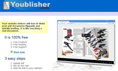 Youblisher make your own ebook.