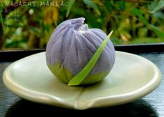 "Summer Wagashi ""Shōbu"", made again from nerikiri dough."