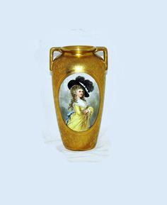 Beautiful Antique/ Vintage 10 Inch Porcelain by AntiquesNOldies