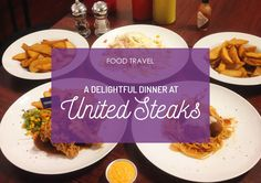 One dinner at United Steaks! :D #CNFoodTravel #FoodTravel #Food #Foodie #KulinerSurabaya #Kuliner
