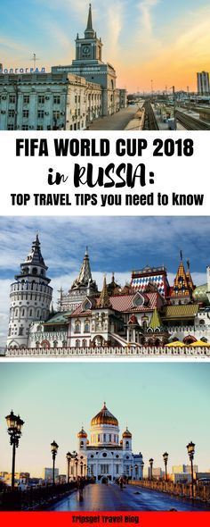 Tips for travelling to Russia for the FIFA World Cup 2018 : World Cup Russia Football World Cup in Russia. Travel to Russia Tips for travelling to Russia Europe Travel Tips, Travel List, European Travel, Travel Advice, Asia Travel, Travel Guides, Travel Destinations, Traveling Tips, Travel Articles