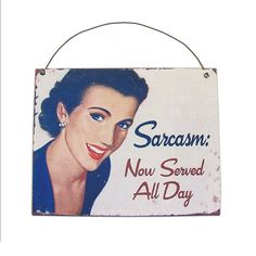 Placa Sarcasmo