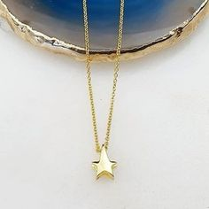 The perfect gift for your north star! Irish Design, Hand Thrown Pottery, Irish Jewelry, Handmade Jewelry, Designers, Jewelry Design, Gold Necklace, Jewellery, Stars