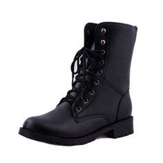 Mode Soif - Bottes Femme Noire Simili Cuir Noir 36 De wpt3pZ
