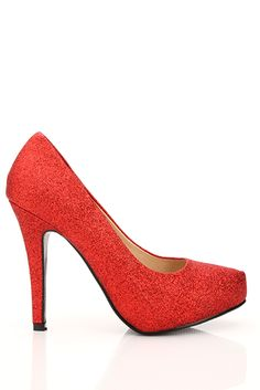 Glitter Heeled Shoes