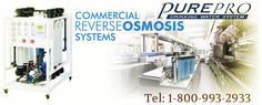 #Commercial #Ro -  Commercial RO System. Reverse Osmosis System for Higher TDS Ideal for applications such as spot free rinse, water stores, whole house, labs, ice makers. At. http://www.pureprousa.com/index.html