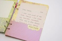 Like the idea of the page pockets - need to put that in my next handmade journal. Ooooh the ideas!
