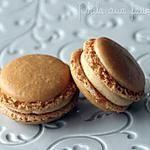 recette Macarons fourrés au caramel beurre salé
