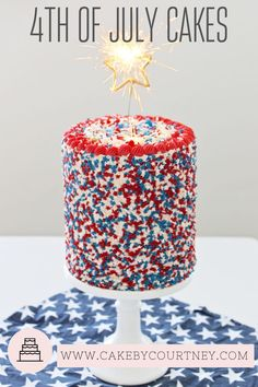 Red White And Blue Birthday Cake Red White And Blue Birthday Ba Birthday Blue Birthday. Red White And Blue Birthday Cake Fourth Of July Birthday Cake Red White And Blue Birthday Cake. Red White And Blue Birthday Cake A Memorial Day Birthday Party. Fourth Of July Cakes, 4th Of July Party, July 4th, Funfetti Kuchen, Funfetti Cake, Blue Birthday Cakes, July Birthday, Teen Birthday, Birthday Bash