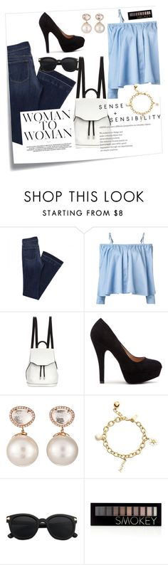 """Untitled #96"" by julietarequena on Polyvore featuring Post-It, Sandy Liang, rag & bone, Samira 13, Kate Spade and Forever 21"