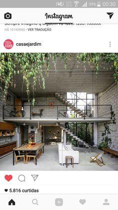 Publicado via Instagram por Casa e Jardim. Não  encontrei a idéia na página Casa e Jardim aqui do Pinterest, então aqui vai um print do Instagram, somente para guardar uma ótima idéia!