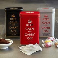 Keep Calm And Carry On Tea, Sweets