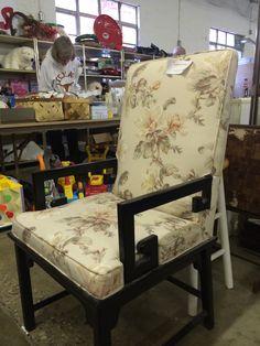 Asian inspired armchair