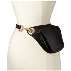 MICHAEL Michael Kors Pebble Leather Belt Bag with Oversized Grommet... ($88) ❤ liked on Polyvore featuring bags, michael michael kors bags, travel bag, michael michael kors, oversized bags and oversized travel bags