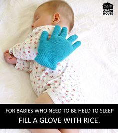 baby hand - a way to help your kids go to sleep