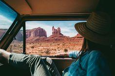Monument Valley through our van window. Gotta see it to believe it! #travelswithoatis by lyndsi_thornton ~ For more van life pics follow me on Instagram @van.crush https://www.instagram.com/van.crush/