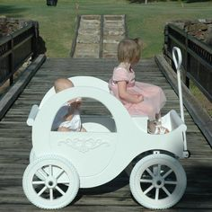Snow White Princess Wagon