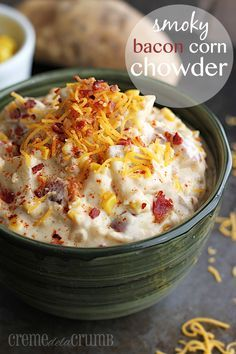 Smoky Bacon Corn Chowder