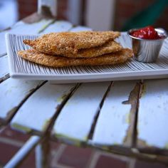 You might find it surprising that this quintessential Viennese schnitzel is probably the most commonly made lunch or d. Chicken Schnitzel, Chicken Cutlets, Turkey Recipes, Chicken Recipes, Healthy Chicken, Cooking Recipes, Healthy Recipes, Crusted Chicken, Fries In The Oven