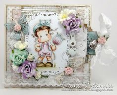 DeeDee´s Card Art: ♥ Flower Tilda with Bowknot ♥ VINTAGE SPRING papers
