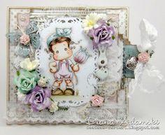 DeeDee´s Card Art: ♥ Flower Tilda with Bowknot ♥ VINTAGE SPRING papers