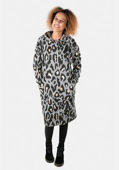 Kimmy Oversized Hooded Loungewear Dress