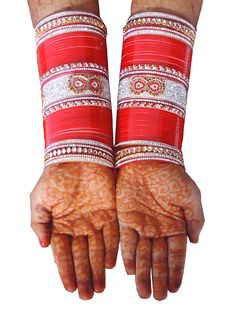 Buy chura online ,Price of chura is 4200/- we offer free shipping in india only . We charge 20 Dollar international shipping from overseas buyer from across the globe . Join us whats app no. +91 9416307694  for more latest design.