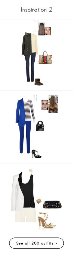 """Inspiration 2"" by gracebeckett ❤ liked on Polyvore featuring Citizens of Humanity, Karen Millen, Jimmy Choo, Gucci, Barbour, Etro, Zoe Karssen, Michael Kors, Georg Jensen and Christian Dior"