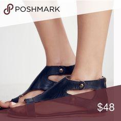 Soto Leather Sandals Soto Leather Sandals - Black Shoes Sandals
