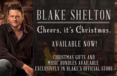 Blake Shelton's 1st Christmas CD