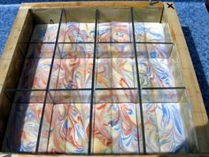 Homemade wood slab mold with lexan plastic liner - Soap Making Forum