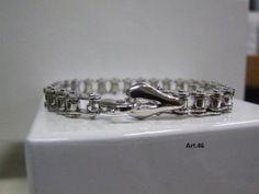 Arte Vi.Va Gioielli - Bracciale catena in acciaio e argento - Arte Vi.Va Gioielli - Brands