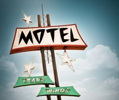 Trade Winds Motel by Marc Shur / Art Deco Design, Retro Design, Graphic Design, Museum Of Neon Art, Vintage Neon Signs, Trade Wind, Atomic Age, Atomic Punk, Old Signs