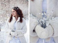 #winterhochzeit Inspiration. Handschuhe nicht vergessen. Sonst wird es kalt!