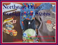 Northeast Ohio Consignment Store list from www.sistersshoppingonashoestring.com