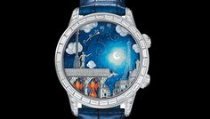 A highlight from this week's first watch-themed e-newsletter: the Midnight Poetic Wish from Van Cleef & Arpels.