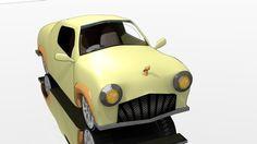 1956 model Little Tocororo  Copyright Iain Bruce 2013  Modelled, textured & rendered in Blender