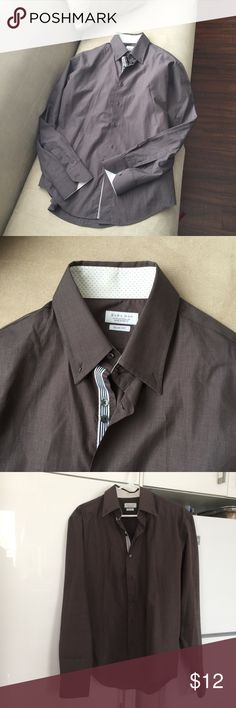 Zara man slim fit Zara man have a small spat of stain. But is a good condition. Zara Shirts Casual Button Down Shirts
