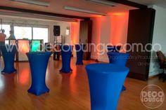 Alquiler de mesas cocteleras para eventos